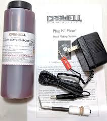 plug n plate copy chrome kit caswell
