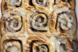 we made the cinnamon rolls from martina