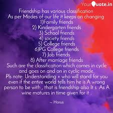 friendship has various cl quotes writings by horus osis