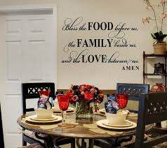 Unique Wall Decals To Beautify Your Home My Visual Home Dining Room Wall Art Dining Room Wall Decor Dining Room Small