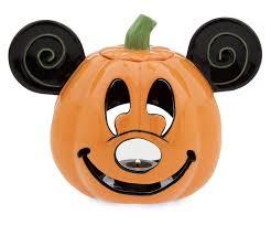 Disney Happy Halloween Mickey Pumpkin Votive Candle Holder ...