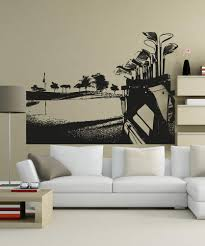 Vinyl Wall Decal Sticker Golf Course 5105 Stickerbrand