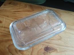 vintage arcroc lidded glass er dish