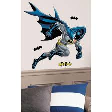 Roommates 38 In X 44 In Batman Bold Justice Peel And Stick Giant Wall Decal Rmk1864gm The Home Depot