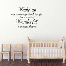 Shop Wake Up Each Morning Wall Vinyl Overstock 17619675