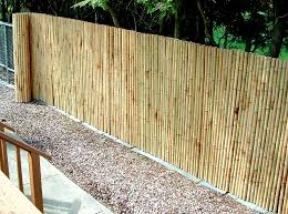 Tricks For Installing A Sturdy And Beautiful Bamboo Fence Backyard Fences Backyard Privacy Backyard Makeover