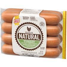 oscar mayer selects natural turkey hot