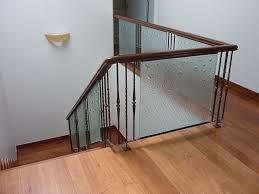 glass barade glass staircase ag