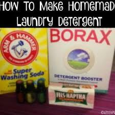 homemade washing detergent