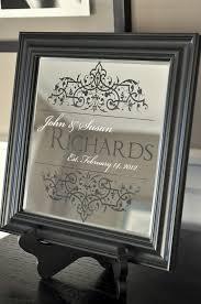 personalized family name mirror