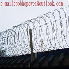 Cost Of Razor Wire Razor Blade Wire Fence Concertina Wire Price Metal Wire Mesh Razor Wire Fencing Prices For Sale Razor Wire Manufacturer From China 109655976