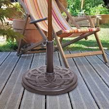 resin 23 lb patio umbrella base at