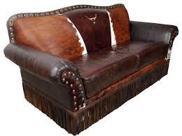 cattle baron 2 cushion sofa