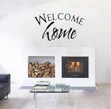 Welcome Home Highest Quality Wall Decal Sticker Home Garden Decor Decals Stickers Vinyl Art