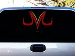 La Decal Dragon Ball Z Vegeta Majin 12 Color Red And Gold Car Truck Decal Sticker Https Automotive Boutiquecloset Com Gold Car Truck Decals Dragon Ball Z