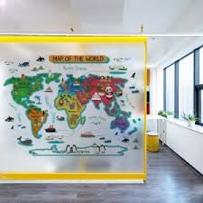 World Map Wall Stickers For Kids Rooms Bedroom Decor Mural For Kids House Home Decor Wall Room Stickers For Decoration Wallcorners Art Canvas