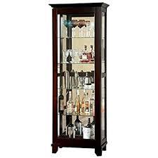 es corner curio cabinet