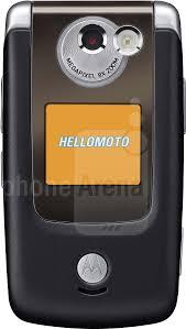 Motorola A910 Size - Real life ...