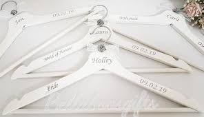 Wedding Hanger Vinyl Decals Only Bellaboosgifts