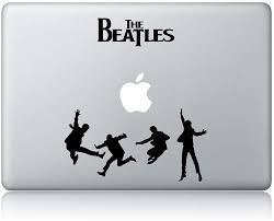 Amazon Com The Beatles Vinyl Sticker Decal For Laptop Car Kitchen Dining