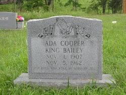 Ada Cooper King (1907-1962) - Find A Grave Memorial