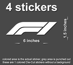 F1 Formula One Decals Stickers Racing Car Window Laptop Tablet Bumper Stickerboy Skins For Protecting Your Mobile Device