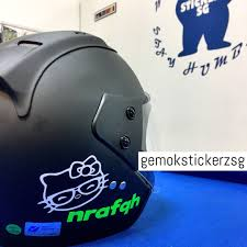 Hello Kitty Custom Decal Motorcycles Motorcycle Accessories On Carousell