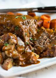 savory slow cooker pot roast kevin is