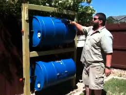 homemade double barrel composter you