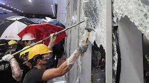 60 injured in Hong Kong protests, China irked at violence