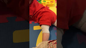easy simple knee pads for crawling