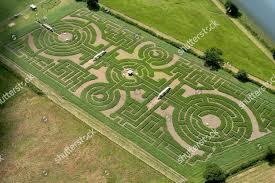Britains Maize Maze Craze Giant crop circle Editorial Stock Photo - Stock  Image | Shutterstock