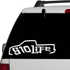 S10 Life Vinyl Decal Sticker Mini Truck Car Airbags Funny Laptop Window Banner Wish