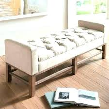 leather bedroom bench impressive