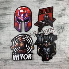 Spawn Mask Anti Hero Chibi Vinyl Sticker Decal Graphic Custom