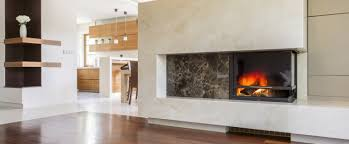 natural stone fireplace clean