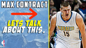 Nikola Jokic Signing A Max Contract ...