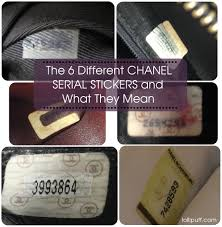 Chanel Serial Number Meaning And Sticker Guide Lollipuff