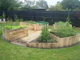 wood pallet raised garden beds