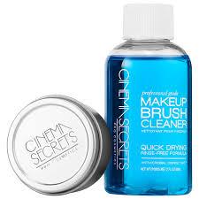 makeup brush cleaner travel set