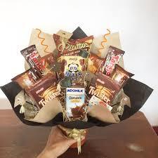 snack bouquet graduation buket