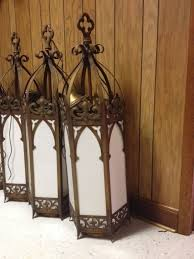 gothic style pendant lights vintage