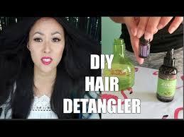 diy hair detangler 3 easy steps