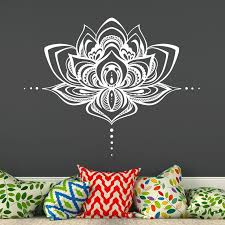 Bungalow Rose Natazhat Lotus Flower Wall Decal Reviews Wayfair