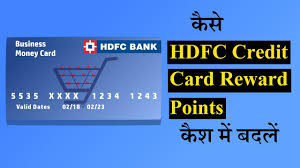 redeem hdfc credit card reward points
