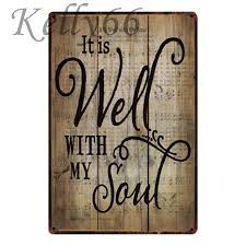 my soul metal sign poster home decor