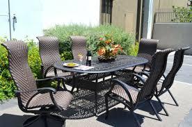 outdoor dining set cast aluminum