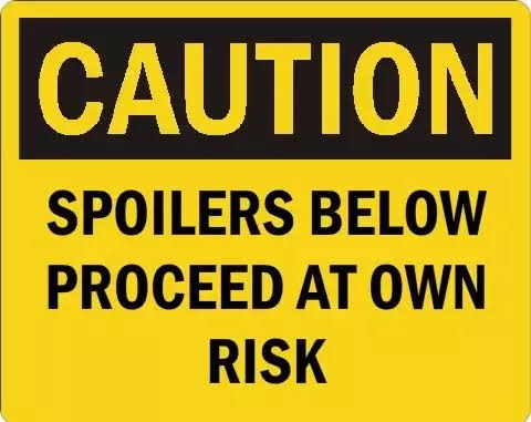 Image result for spoiler warning""