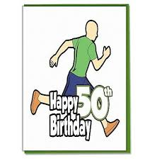 50th birthday card mens son grandson