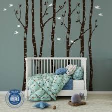 Birch Tree Wall Decal Australia Walmart Hobby Lobby Vinyl Design Stickers With Fox White Amazon Target Vamosrayos